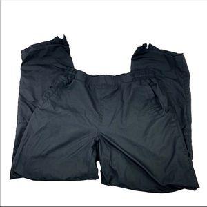 Nike  Black Windbreaker Lined Jogging Pants